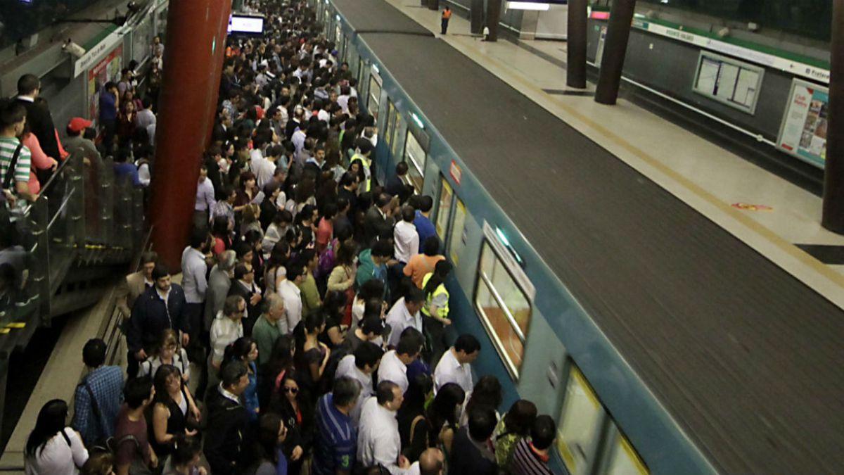 Metro suspende el servicio entre Monte Tabor y Plaza de Maipú