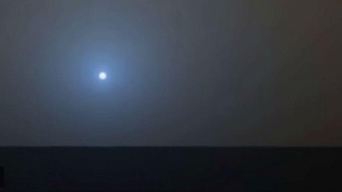 Robot espacial revela cómo es un atardecer en Marte