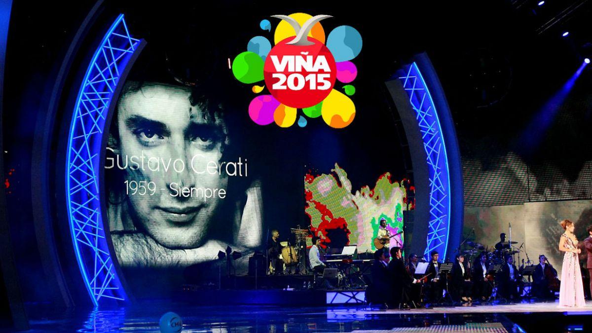 Viña 2015: Así fue el emotivo homenaje de Pedro Aznar a Gustavo Cerati