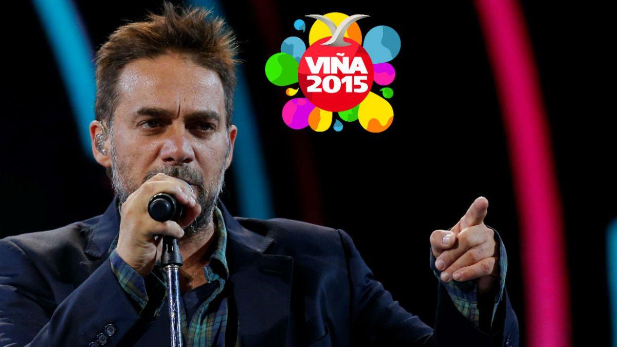 Viña 2015: Vicentico realiza exitosa presentación y recuerda a Gustavo Cerati