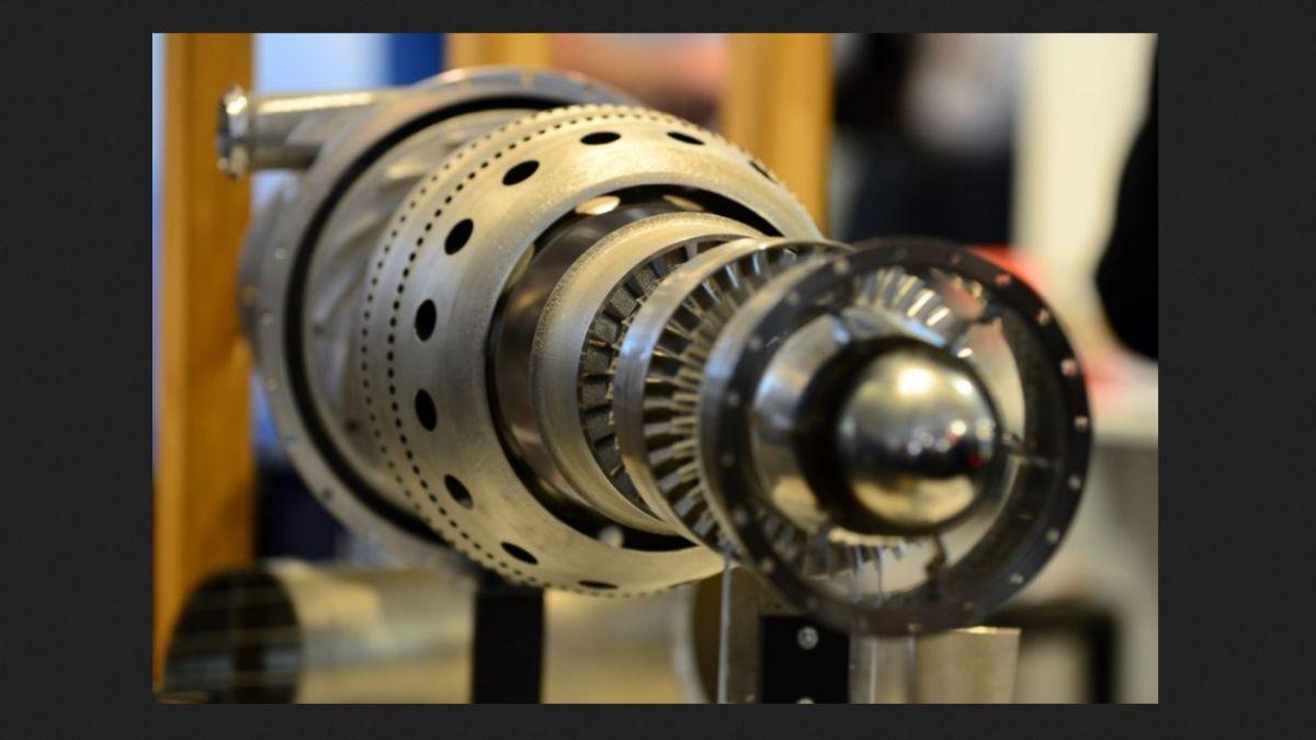 Crean primer motor de avión con impresora 3D