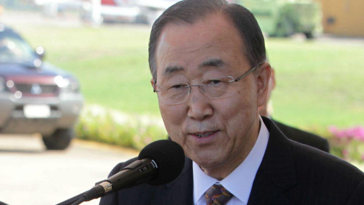 Ban Ki-moon: El Secretario General de las Naciones Unidas llega hoy a Chile