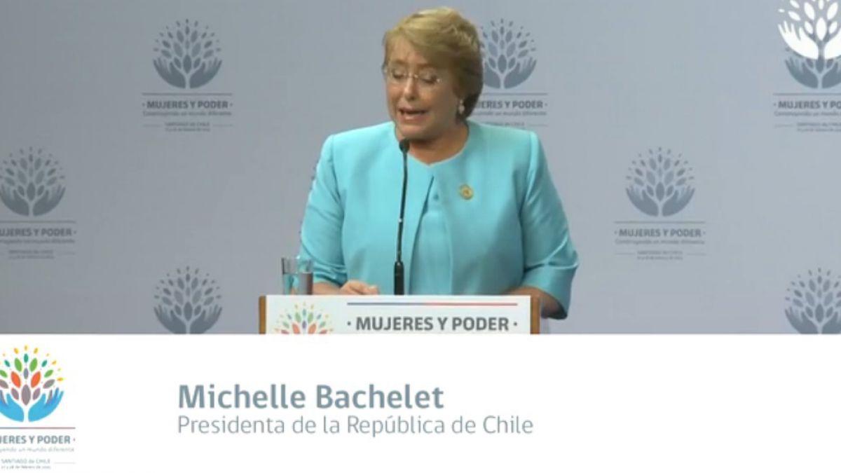 ONU Mujeres: Bachelet destaca proyecto para despenalizar el aborto