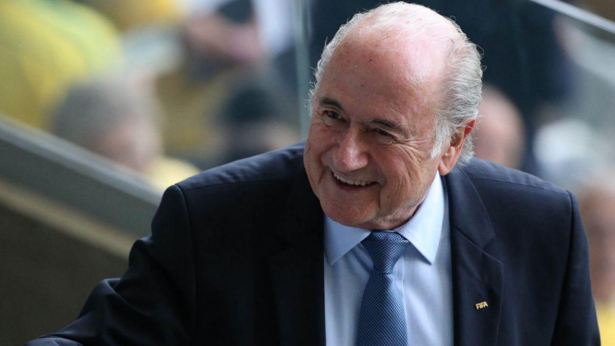 Blatter se reúne con presidentes de las seis confederaciones de la FIFA