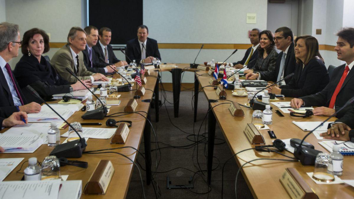 Estados Unidos y Cuba inician segunda ronda de diálogo