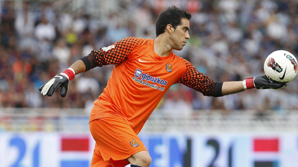 Claudio Bravo logra nuevo récord en la Liga española