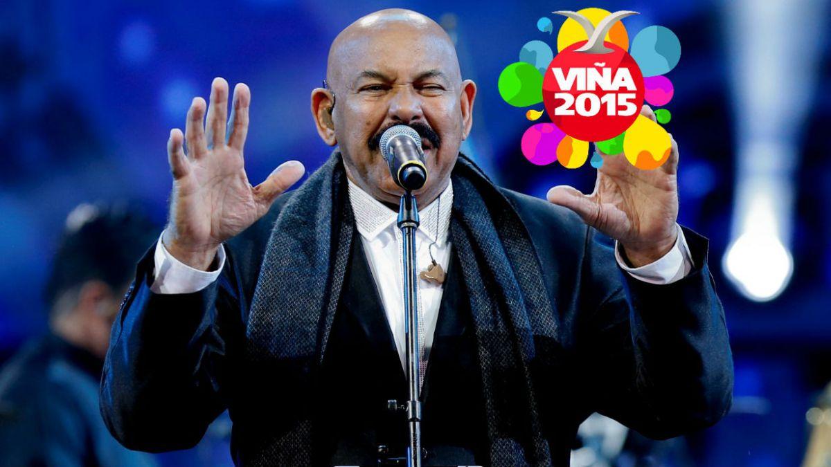 Oscar DLeón recuerda a Celia Cruz y despide el Festival de Viña 2015
