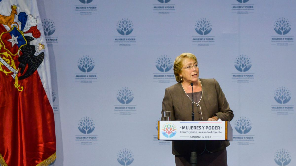 """Bachelet cierra conferencia de ONU Mujer con llamado a la """"igualdad de género"""""""