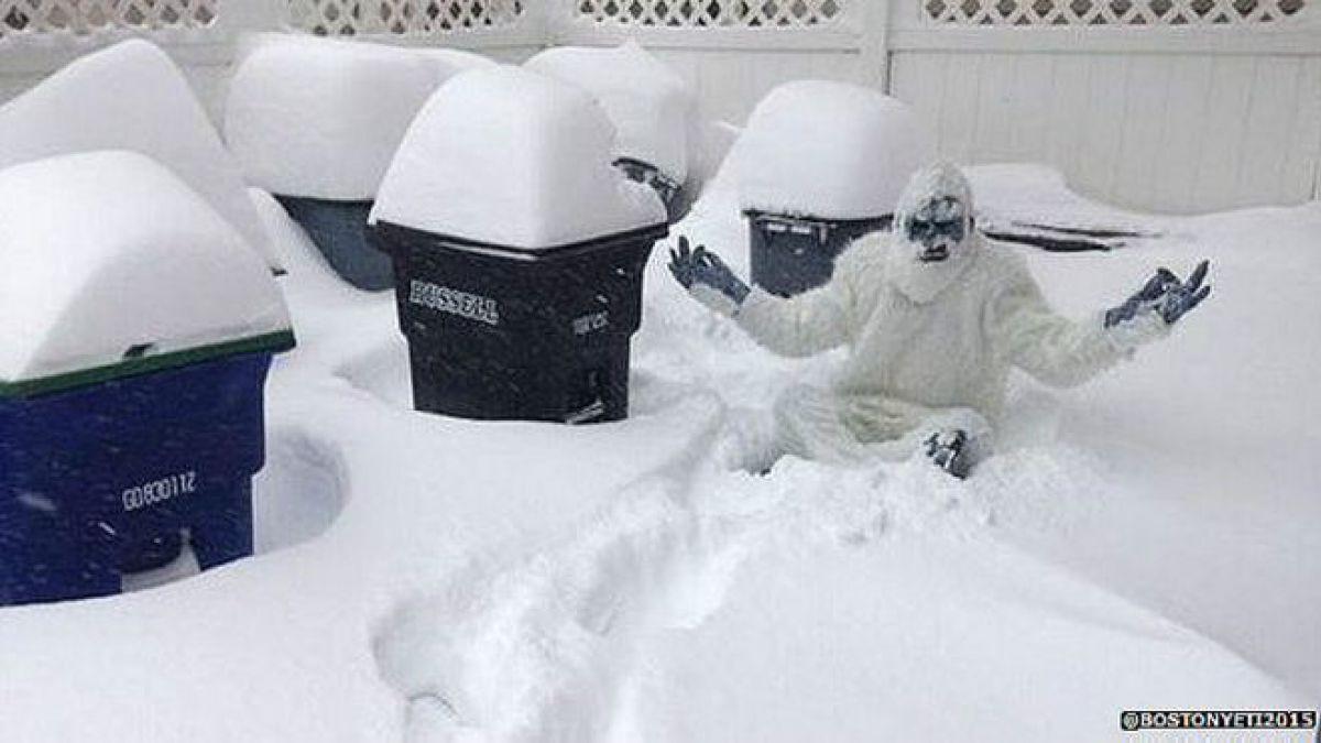 10 cosas raras que los residentes de Boston están haciendo con la nieve