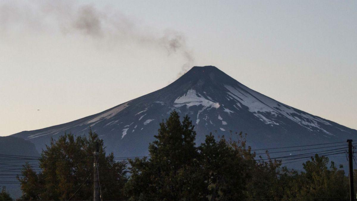 [FOTOS] Así luce el Villarrica a horas de su erupción