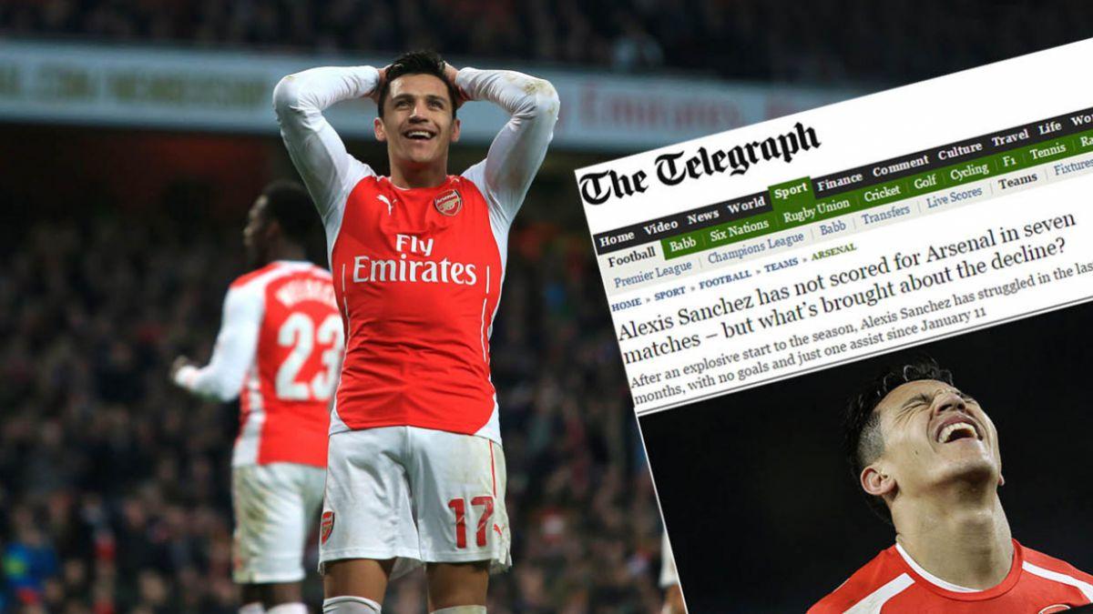 Prensa inglesa: Alexis no anota goles por culpa de Ozil