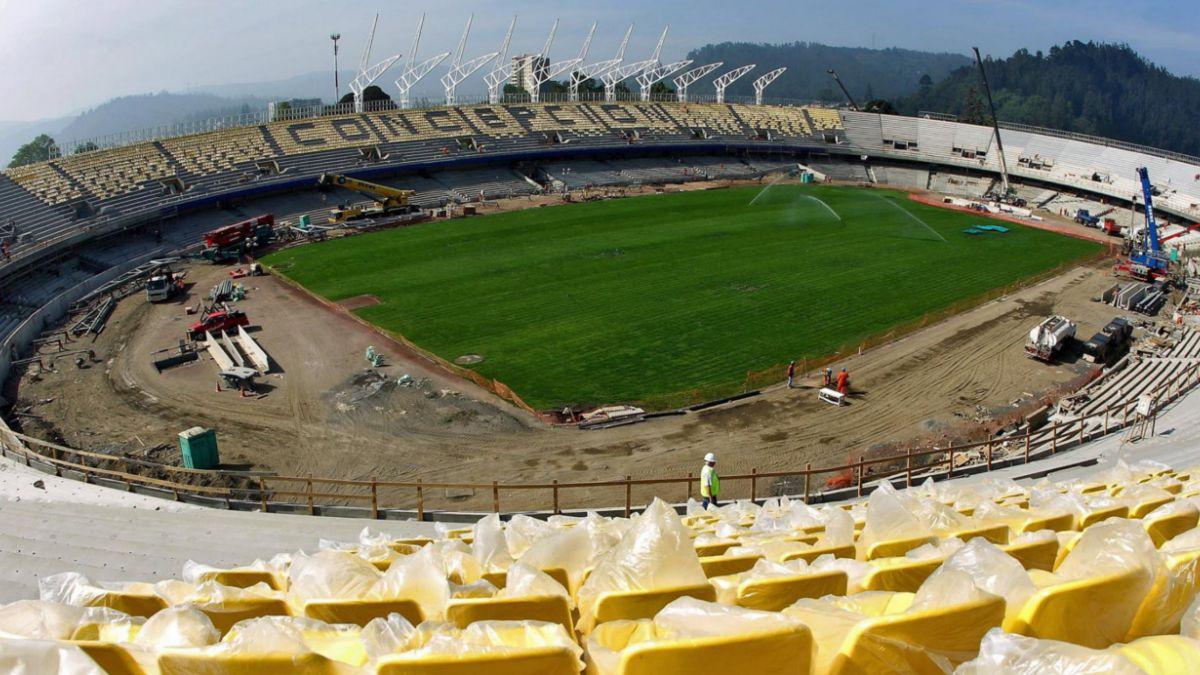 [FOTOS] El gran avance del Estadio Ester Roa Rebolledo de Concepción