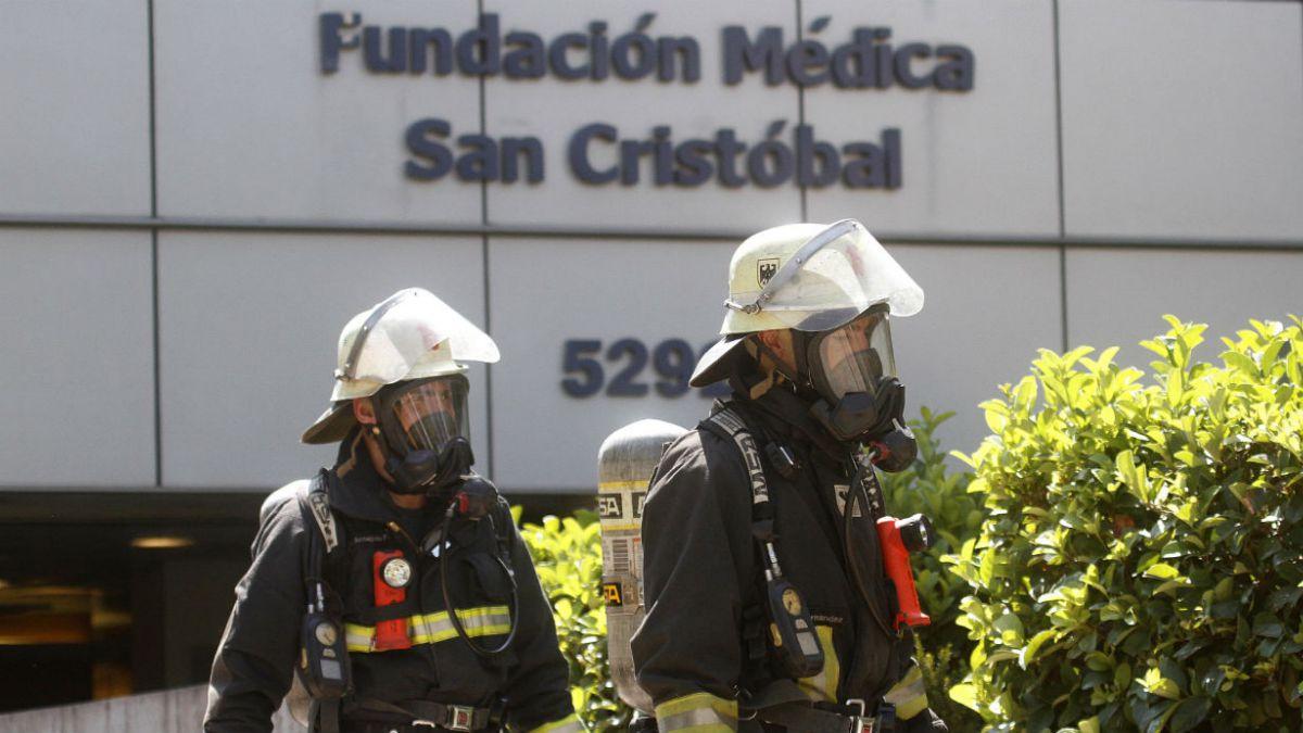 Clínica San Cristóbal niega fuga de gases en muerte de tres personas