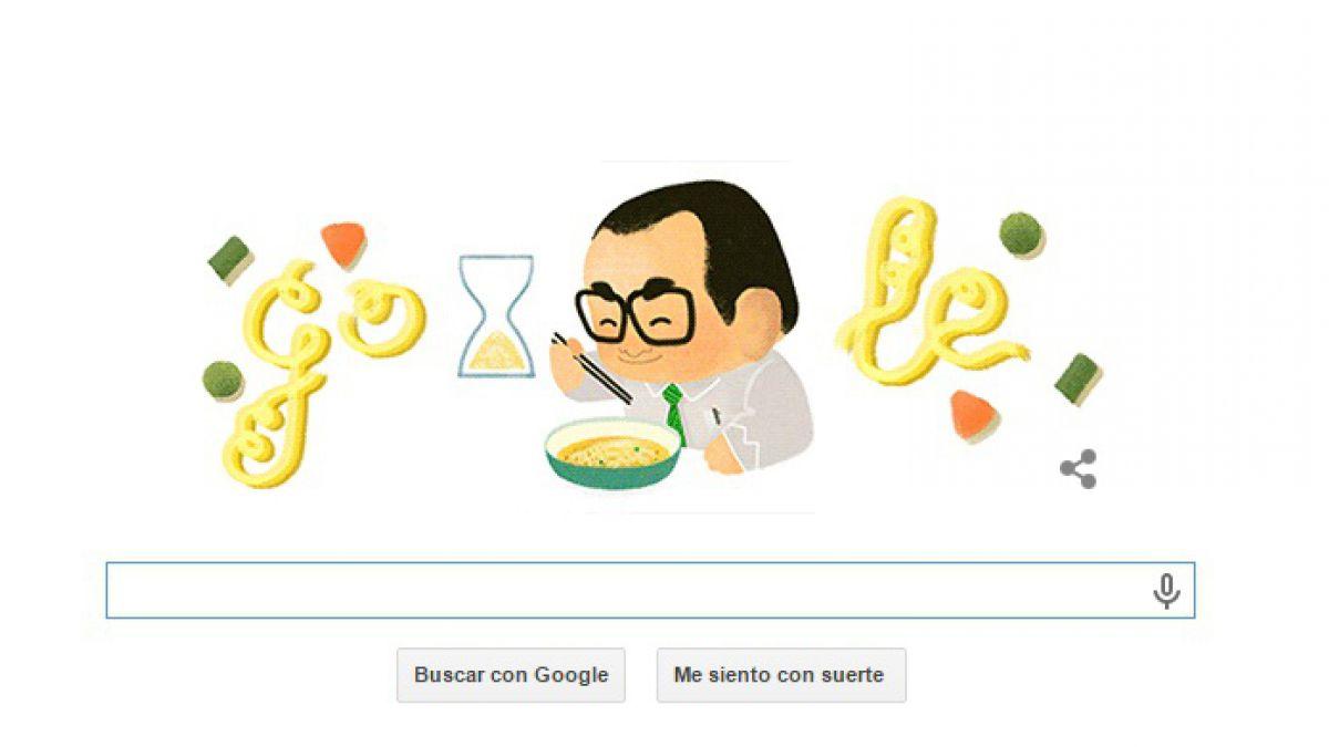 Google rinde homenaje al creador de la sopa instantánea