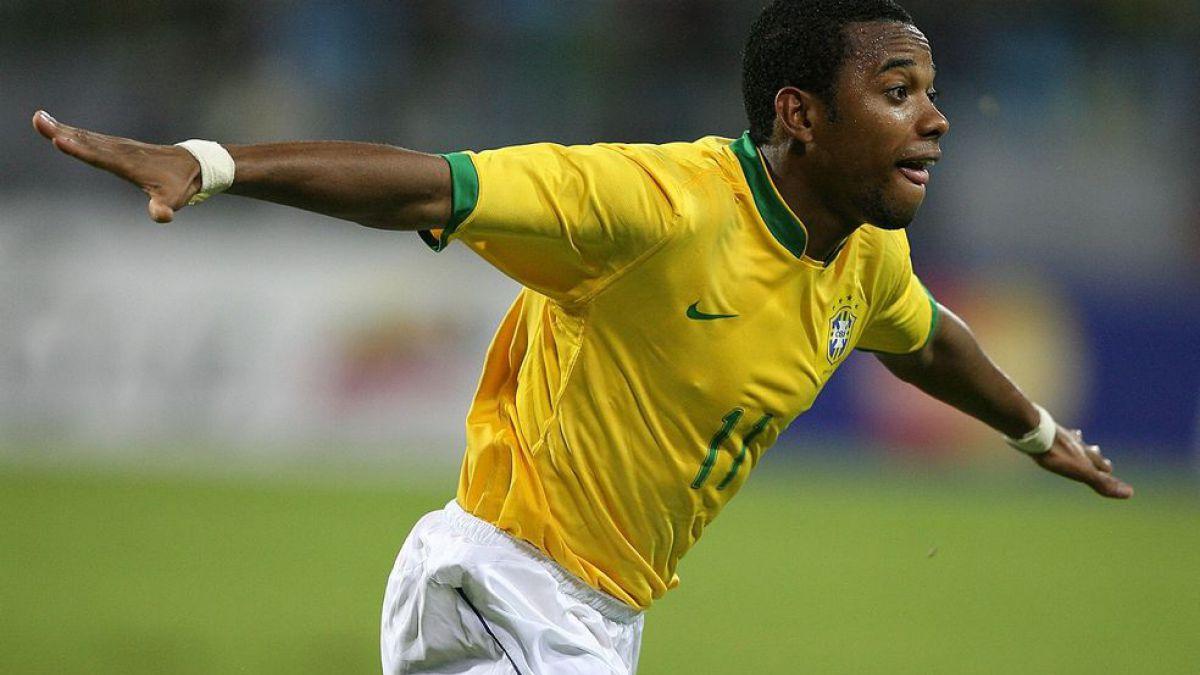 Robinho destaca en nómina de Brasil para amistoso ante Chile