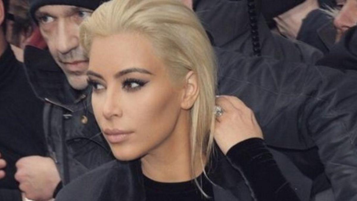 FOTOS: El impactante cambio de look de Kim Kardashian