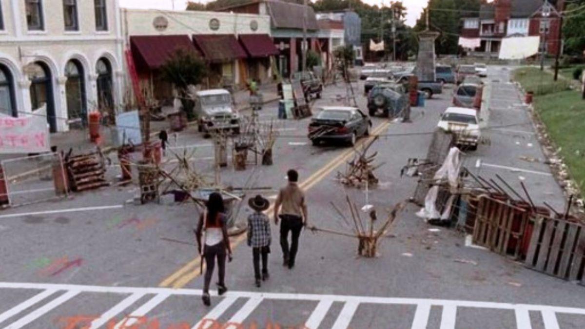 The Walking Dead: Buscan subastar el pueblo donde se rodó la serie