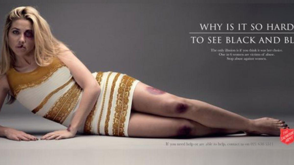 El vestido ahora es parte de potente campaña contra la violencia doméstica