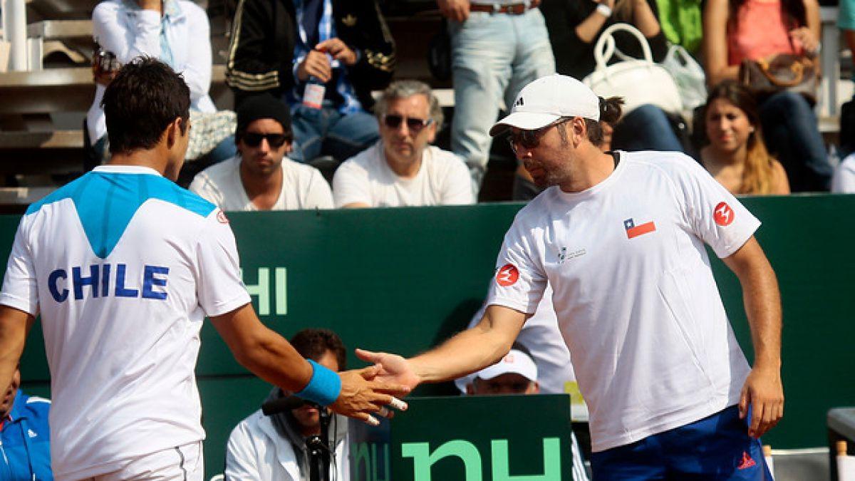 Massú y nominación de Julio Peralta en Copa Davis: Este año ha jugado bastante bien