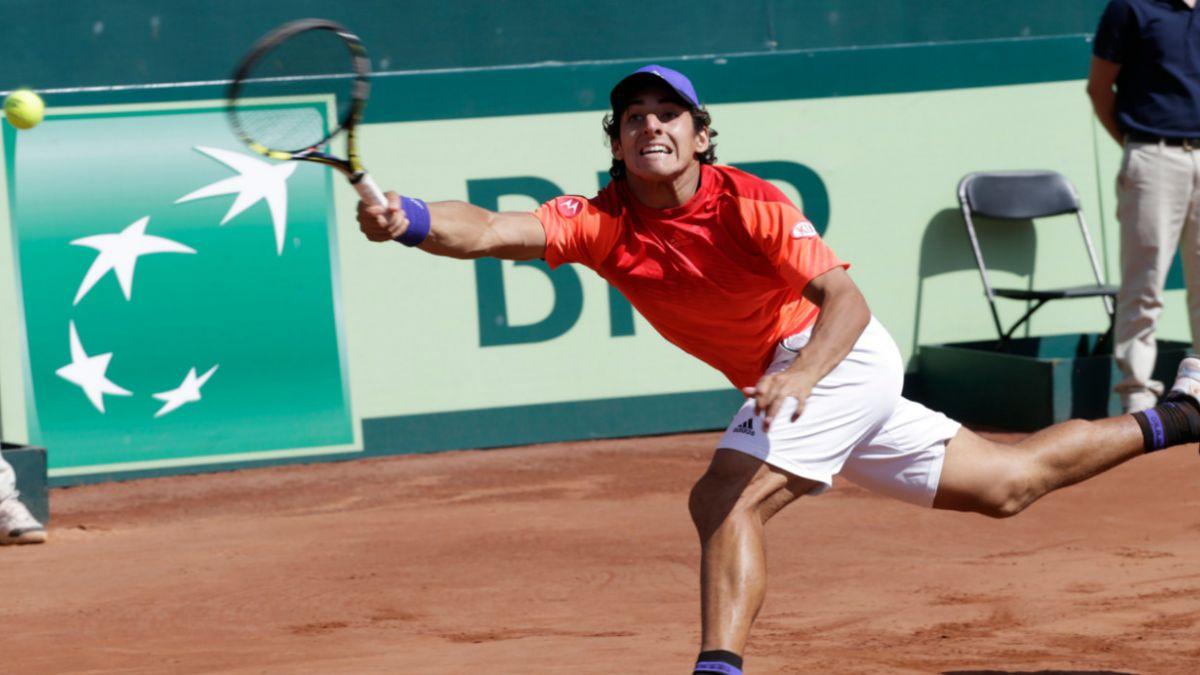 Garín asume que no se sintió cómodo jugando en Copa Davis