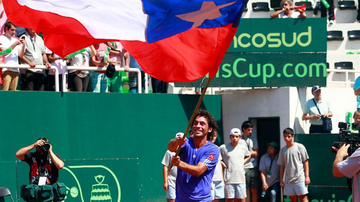 La nómina de Chile para enfrentar a Colombia por Copa Davis