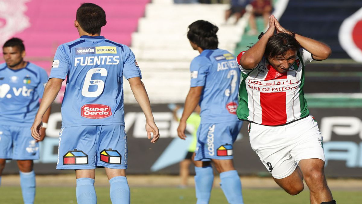 Renato Ramos le dio un agónico empate a Palestino
