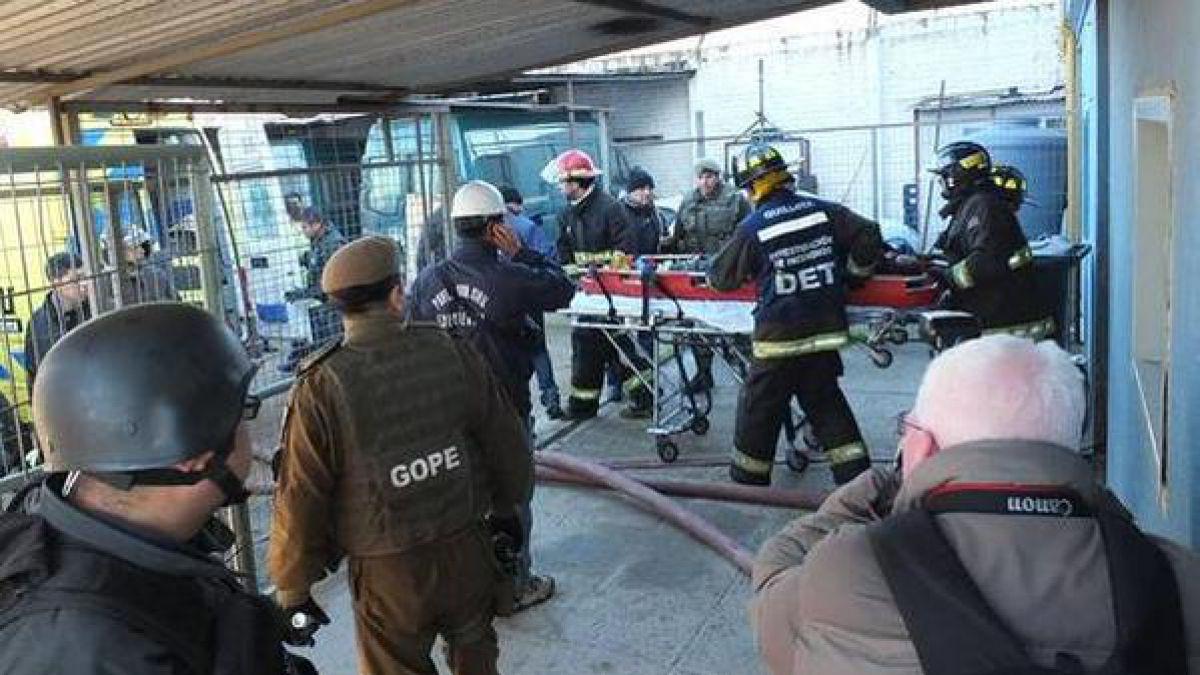 Muere uno de los reos heridos tras violenta riña en la cárcel de Quillota