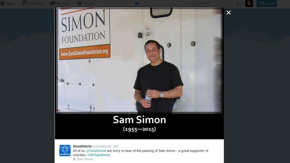 Muere Sam Simon, uno de los padres de Los Simpson
