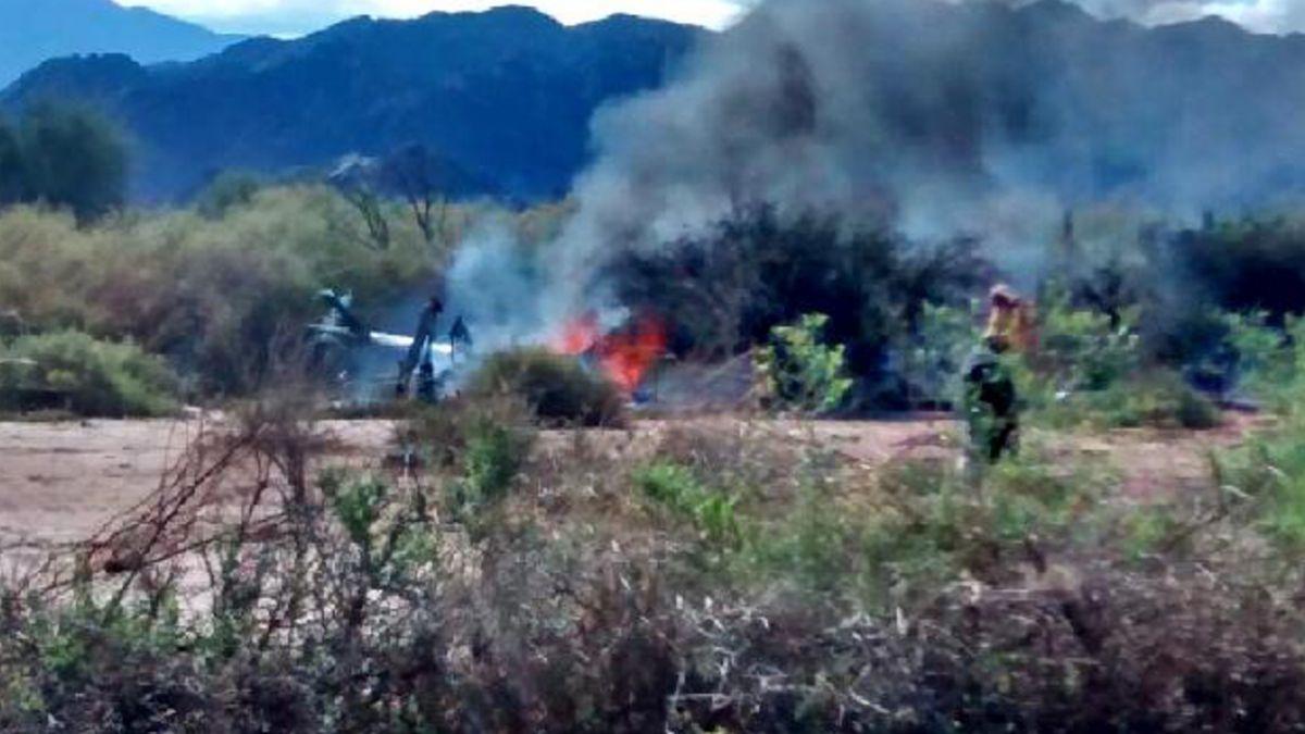 Choque de dos helicópteros en La Rioja deja al menos diez muertos