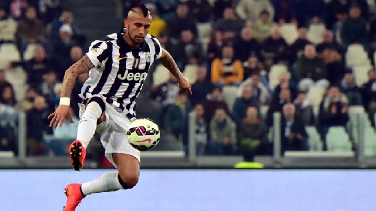Arturo Vidal ocupó las redes sociales tras victoria de la Juventus