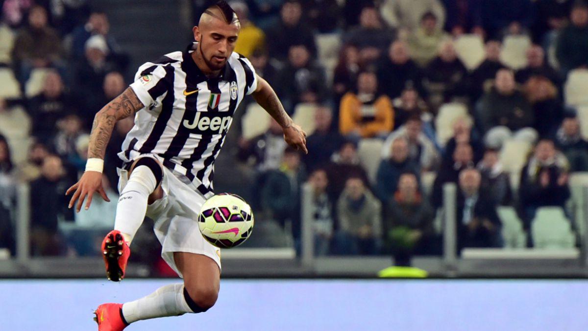 Vidal asoma como titular en la Champions por la Juventus