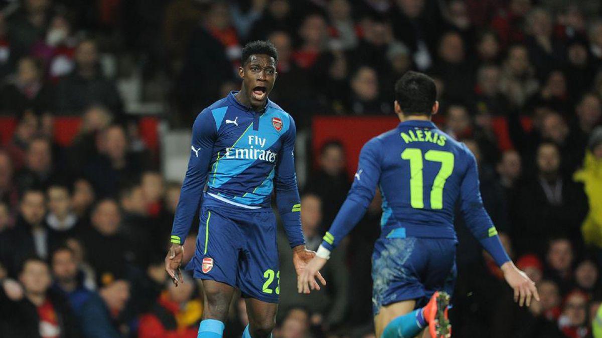 La celebración de Alexis tras eliminar al Manchester United