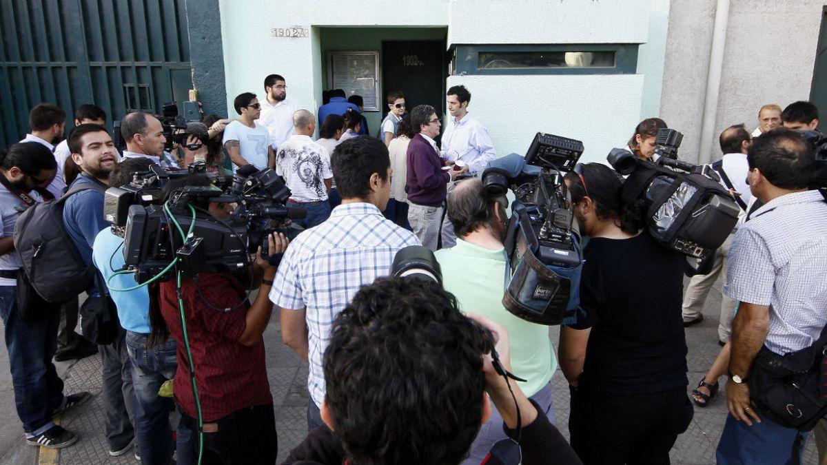 Penta: Familiares y amigos se retiran tras jornada de visitas a imputados
