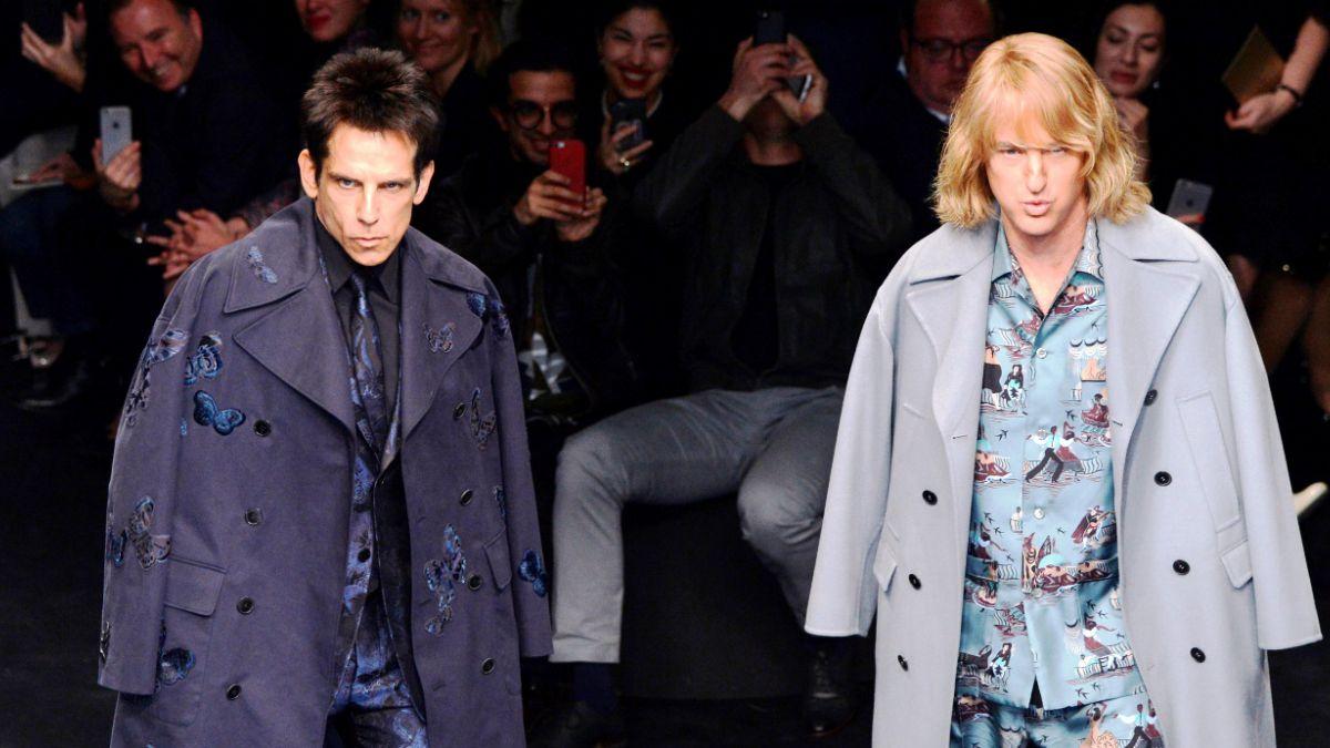 Protagonistas de Zoolander aparecen modelando en Fashion Week de París