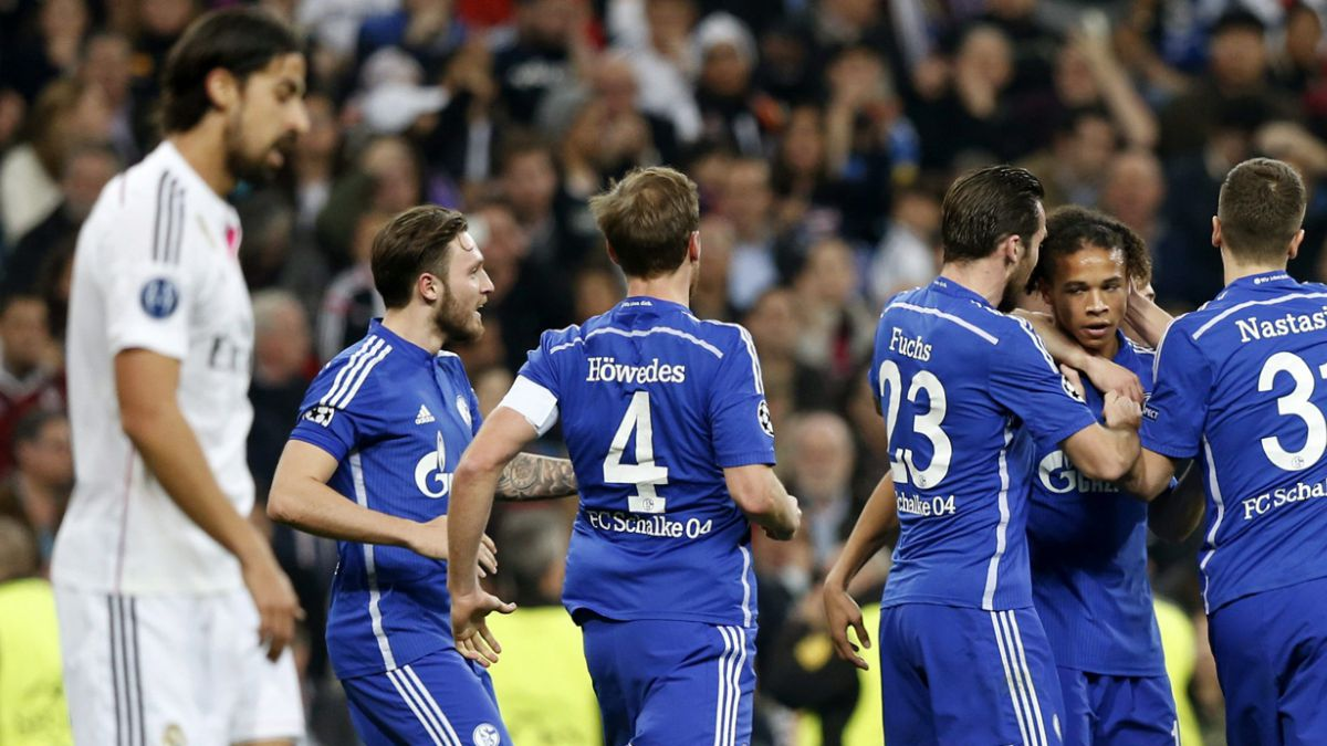 Real Madrid clasificó pidiendo la hora ante Schalke 04