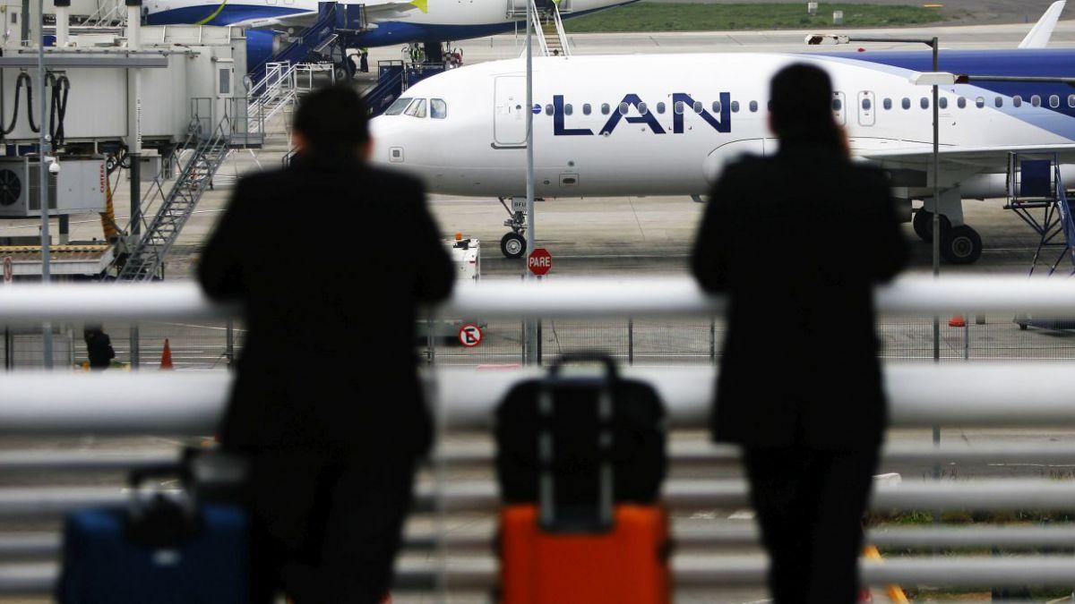 Vuelos de LAN están suspendidos en Argentina por conflicto gremial