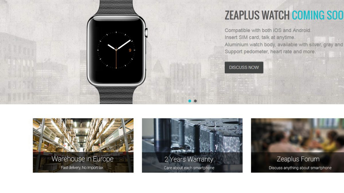 Chinos ya venden copias falsificadas del Apple Watch