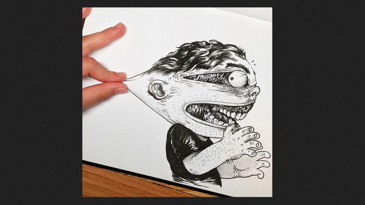 Alex Solis: el caricaturista que pelea con sus dibujos