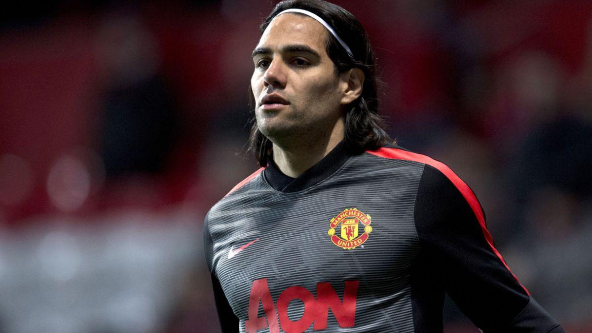 Falcao jugó con el equipo reserva del Man-United