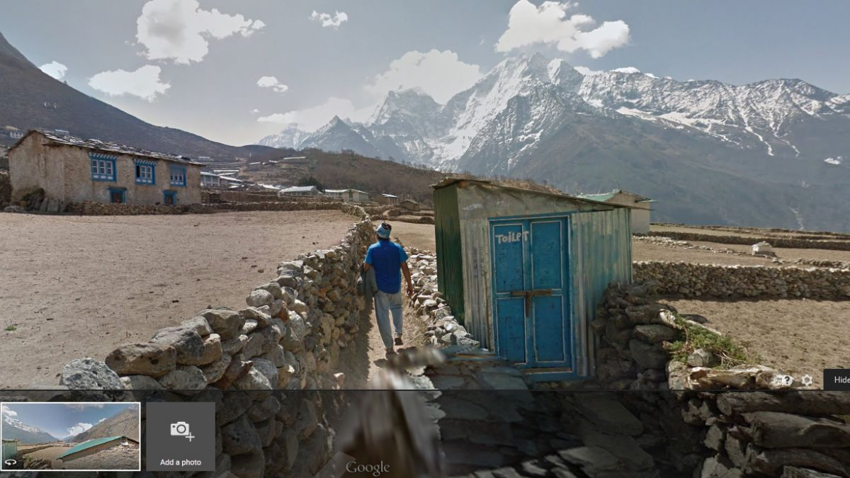 Ahora puedes recorrer las faldas del Everest con Street View