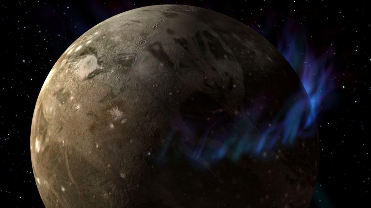 Descubren océano salado en la luna más grande del sistema solar