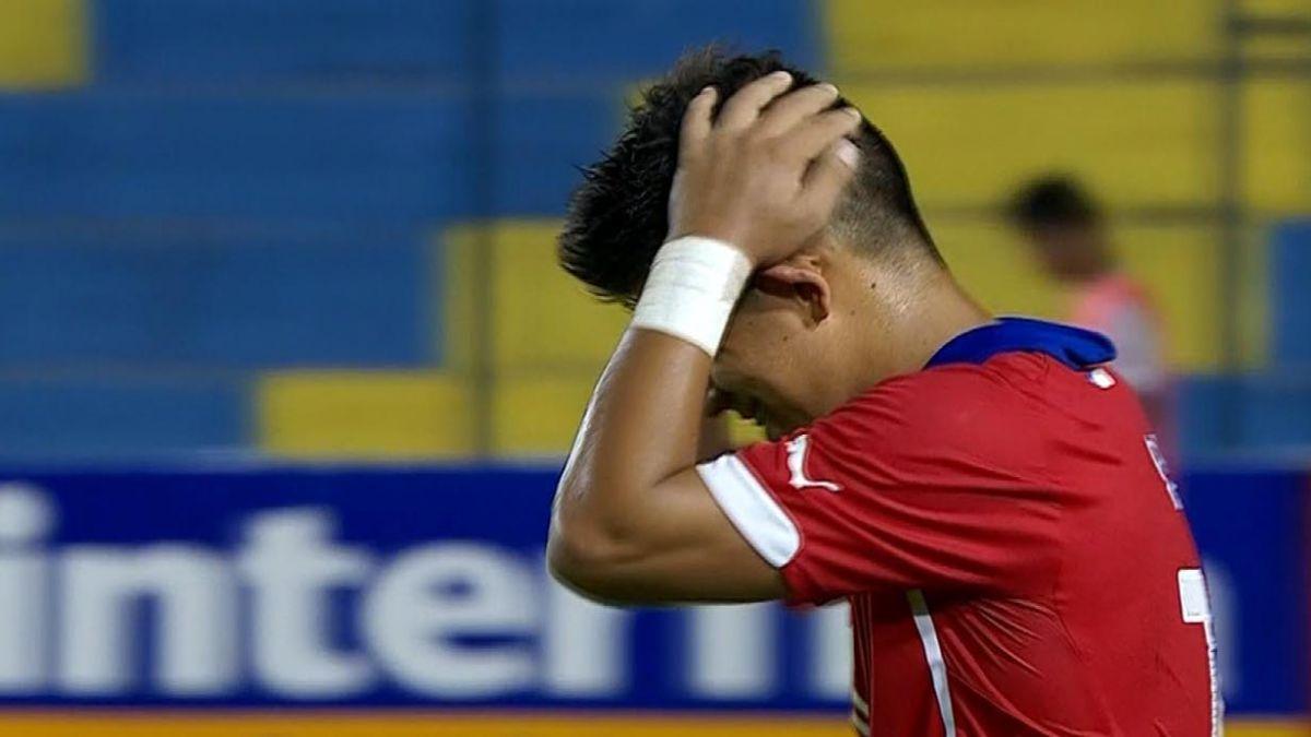 [VIDEO] Chile es goleado, pero no queda eliminado del Sudamericano Sub 17