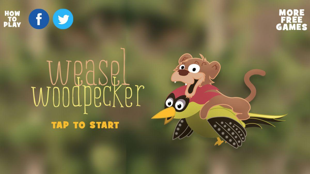 Nuevo videojuego recrea la historia de la comadreja y el pájaro carpintero