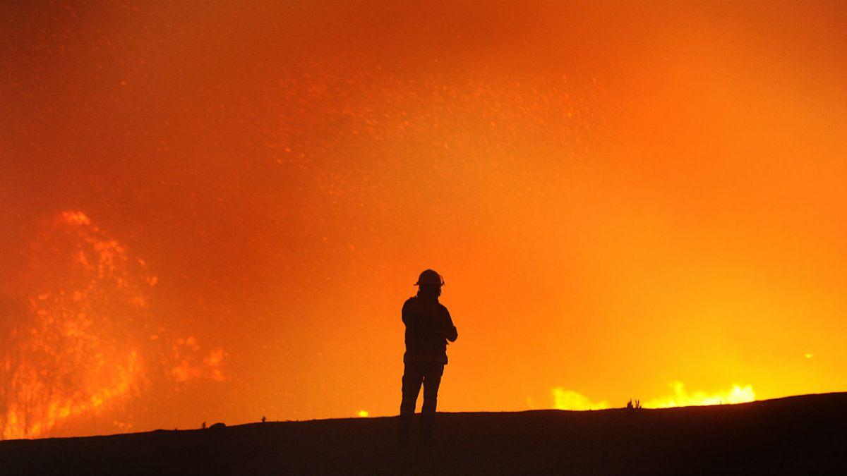 Incendio en Valparaíso se originó en vertedero clandestino