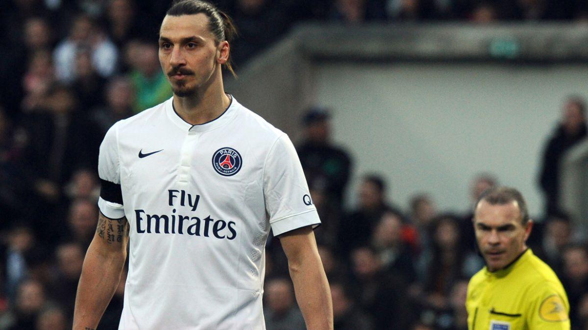 Cuatro fechas para Ibrahimovic por insultos a árbitro y Francia