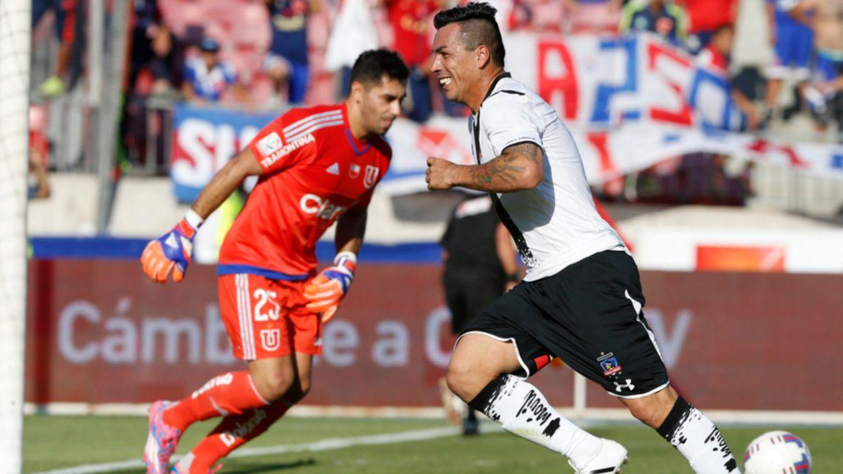 Esteban Paredes repasa sus goles en el Superclásico