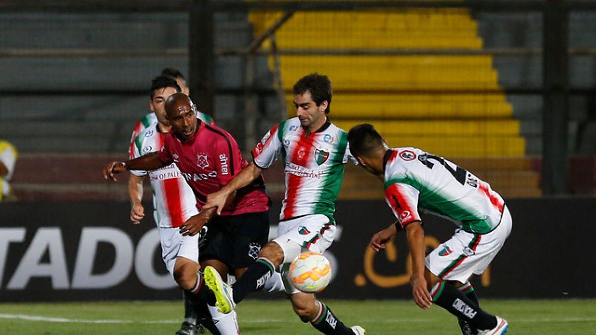 Palestino enreda puntos valiosos en la Libertadores