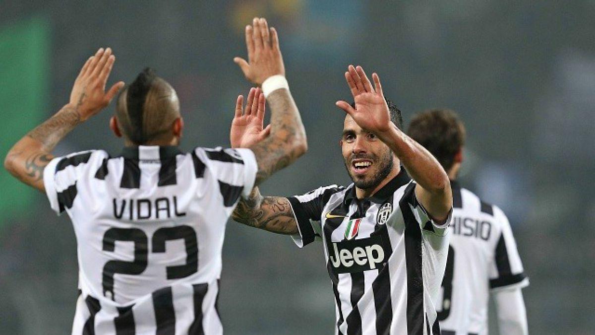 La Juventus de Vidal sonríe y el Barcelona de Bravo mira atento