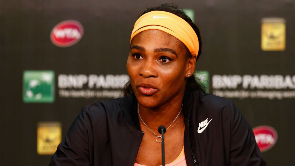 Serena Williams se retira de Indian Wells por una lesión