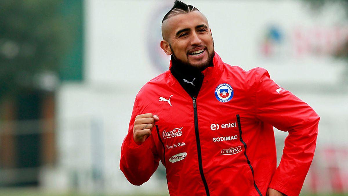 Vidal aclara dudas sobre sus lesiones en la previa del partido con Irán